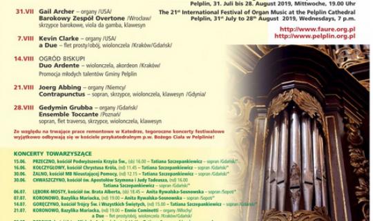 XXI Międzynarodowy Festiwal Muzyki Organowej