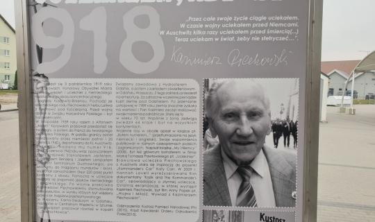 Wystawa plenerowa o Kazimierzu Piechowskim